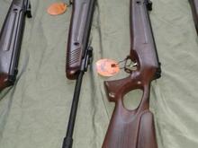 تفنگ بادی هانتر قنداق قناسه ای  5.5 ترکیه  اکبند  در شیپور-عکس کوچک