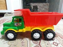 ماشین اسباب بازی کامیون 130 کیلویی در شیپور-عکس کوچک