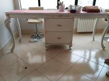میز ناخن و صندلی پایه ثابت گردان در شیپور-عکس کوچک