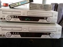 دو دستگاه ویدو  وسی دی دبل  دارای کنترل  فروشی در شیپور-عکس کوچک