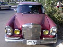 بنز ششدر مدل 1966 در شیپور-عکس کوچک