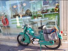 یک عدد موتور رکس و دو عدد دو چرخه کلیکسونی  در شیپور-عکس کوچک