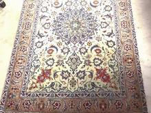 فرش دستبافت زرع ونیم ابریشم کاشان در شیپور-عکس کوچک