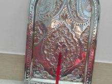سینی قدیمی پرقلم برنجی عتیقه در شیپور-عکس کوچک