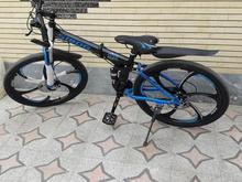 دوچرخه آبی رنگ در شیپور-عکس کوچک