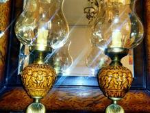 شمعدان قدیمی چراغ آنتیک در شیپور-عکس کوچک