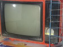 تلوزیون عتیقه قدیمی در شیپور-عکس کوچک