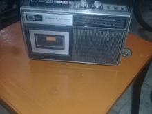 رادیو ضبط کاست خور قدیمی انتیک   در شیپور-عکس کوچک