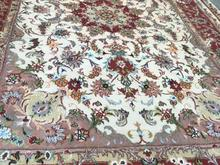 فرش دستبافت گل ابریشم  در شیپور-عکس کوچک