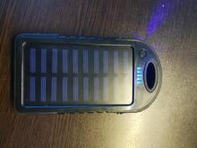 پاور بانک خورشیدی با چراغ ال ای دی  در شیپور-عکس کوچک