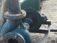 تریلی چهارچرخ خرمن کوب گاو اهن دیسک موتور دو پیستو در شیپور-عکس کوچک