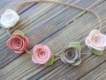 ساخت گل سر و تل های تزئینی و گیره مو در شیپور-عکس کوچک