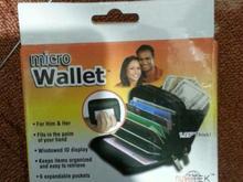 کیف چرمی کارت بانکی و پول و کارت شناسایی میکرو والت  در شیپور-عکس کوچک