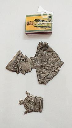 دوعددتزییناتی برنجی طرح قدیم ولی کمیاب در گروه خرید و فروش ورزش فرهنگ فراغت در خراسان شمالی در شیپور-عکس1