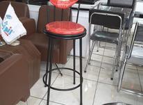 صندلی اپن پایه بلند لوله رنگی در شیپور-عکس کوچک