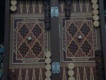 تخته نردطرح دار در شیپور-عکس کوچک