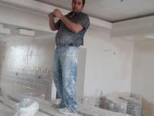 گچ کاری گچ بری ابزار نورمخفی بازسازی ساختمان  در شیپور-عکس کوچک