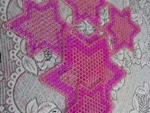رومیزی کریستالی ستاره سه عدد در شیپور-عکس کوچک