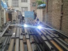 جوشکاری اسکلت فلزی و سازهای نگهبان در شیپور-عکس کوچک