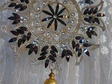 مدال پرده نگین دار در شیپور-عکس کوچک