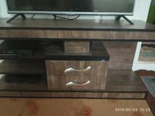 میزتلویزیون زیبا و تمام چوب در شیپور-عکس کوچک