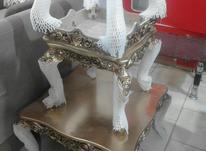 میز عسلی طلایی رنگ نو  در شیپور-عکس کوچک
