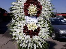 پایه گل تسلیتی  باکس گل سبد گل_تاج گل جشنی،ختمی در شیپور-عکس کوچک