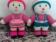 عروسک بافتنی با دست در شیپور-عکس کوچک