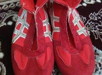 کفش کشتی قرمز در شیپور-عکس کوچک