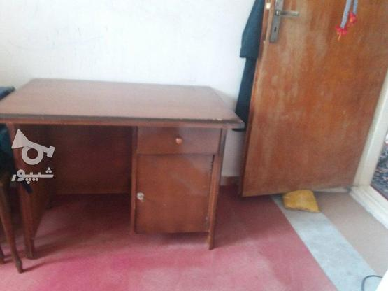 میز تحریر چوبی در گروه خرید و فروش لوازم خانگی در خراسان شمالی در شیپور-عکس1