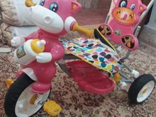 سه چرخه کودک.صورتی در شیپور-عکس کوچک