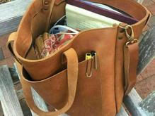 کیف دست دوز(چرم ) در شیپور-عکس کوچک