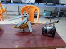هلیکوپتر سایز بزرگ با کنترل  در شیپور-عکس کوچک