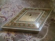 جعبه بزرگ خاتم لوزی بسیار شیک درحداکبند مناسب در شیپور-عکس کوچک