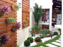 روف گاردن بام سبز لنداسکیپ آتریوم تراس باغ محوطه در شیپور-عکس کوچک