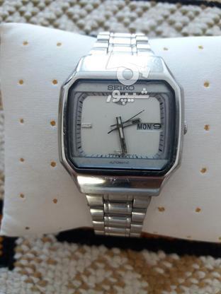 ساعت سیکو چهار گوش صفحه سفید  در گروه خرید و فروش لوازم شخصی در تهران در شیپور-عکس1