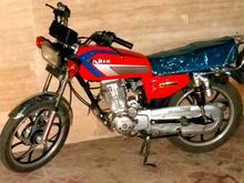 موتورسيکلت گوجه اي رينگ اسپرت در شیپور-عکس کوچک