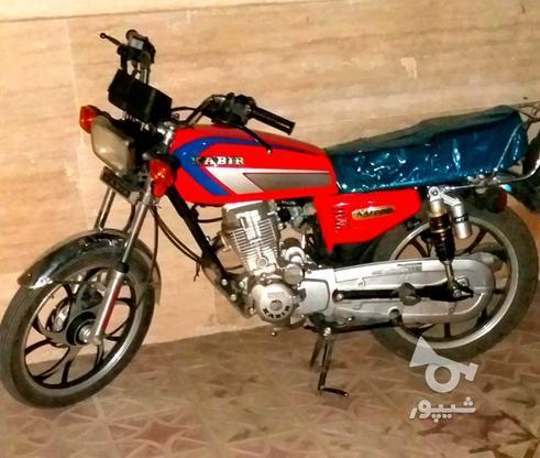 موتورسيکلت گوجه اي رينگ اسپرت در گروه خرید و فروش وسایل نقلیه در زنجان در شیپور-عکس1