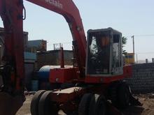 بیل مکانیکی لاستیکی  در شیپور-عکس کوچک