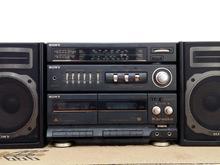 رادیو ضبط سونی CFS_KW100S  سالم وتمیز در شیپور-عکس کوچک