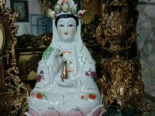 مجسمه زن ژاپنی قدیمی  در شیپور-عکس کوچک