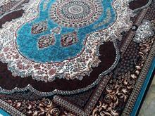 فرش کاشان  کهربا آبی  در شیپور-عکس کوچک