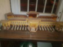 ماکت چوبی پل خواجو در شیپور-عکس کوچک