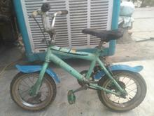 دوچرخه سایز 14 کاملا سالم.رنگ سبز در شیپور-عکس کوچک