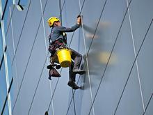 راپل کار در ارتفاع با طناب در شیپور-عکس کوچک