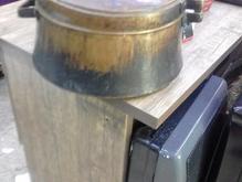 قابلمه مسی قدیمی سالم  در شیپور-عکس کوچک