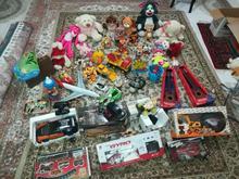 اسباب بازی .عروسک .ست کامل برای کودک در شیپور-عکس کوچک