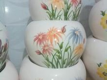 گلدان زیرلعابی در شیپور-عکس کوچک