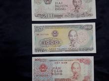 ست 3 عددی اسکناس کشور ویتنام در شیپور-عکس کوچک