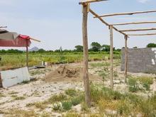 زمین جهت باغچه 350متر  در شیپور-عکس کوچک